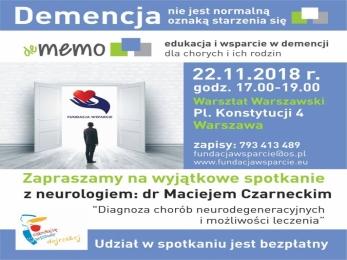 Spotkanie na temat demencji