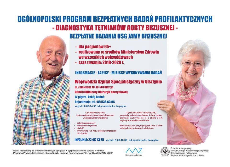 Diagnostyka tętniaków aorty brzusznej