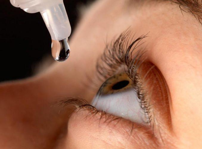 GIF wycofuje serie kropli do oczu