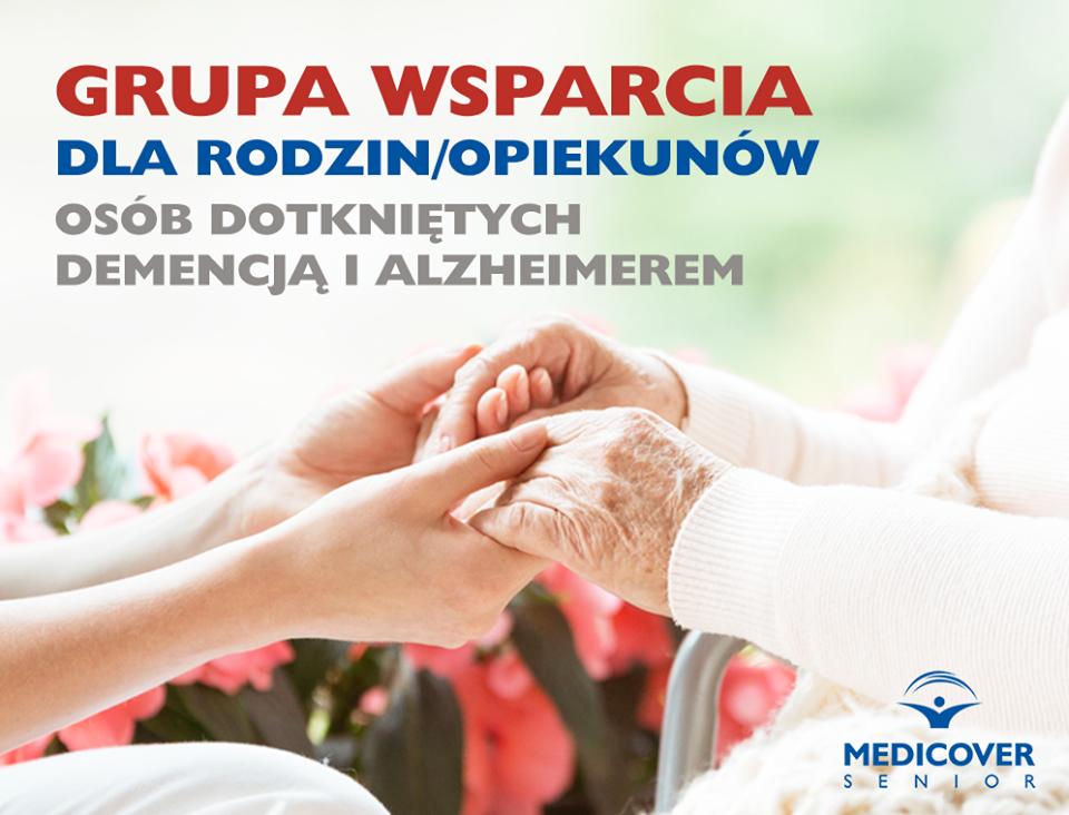 Przyjdź na spotkanie grupy wsparcia dla opiekunów