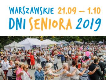 Warszawskie Dni Seniora 2019 – zgłoś wydarzenie!
