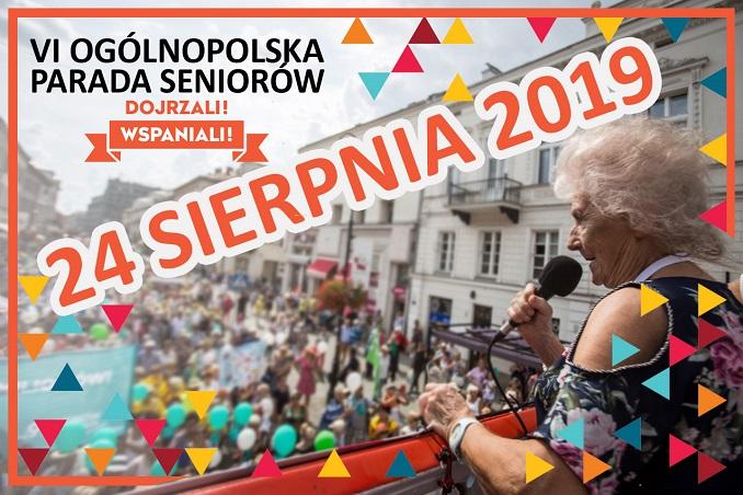 Wybierz się na Paradę Seniorów