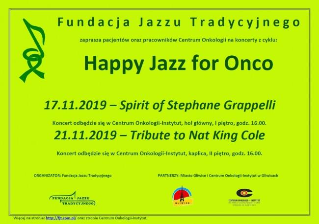 Spotkanie z jazzem w Centrum Onkologii w Gliwicach