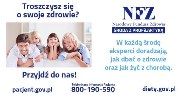 Środa z profilaktyka w NFZ