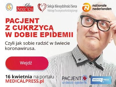 """""""Pacjent w dobie epidemii"""" – program dla pacjentów i ich bliskich"""